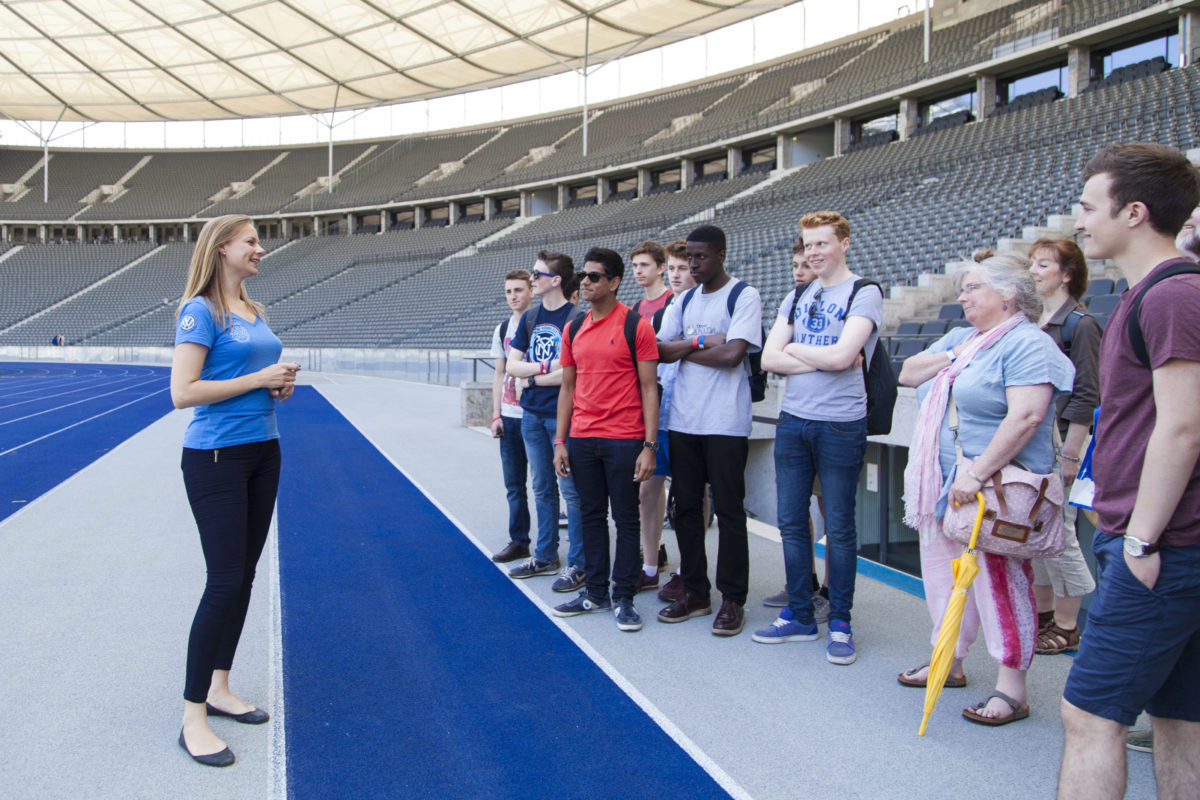Guided Tours - Olympiastadion Berlin